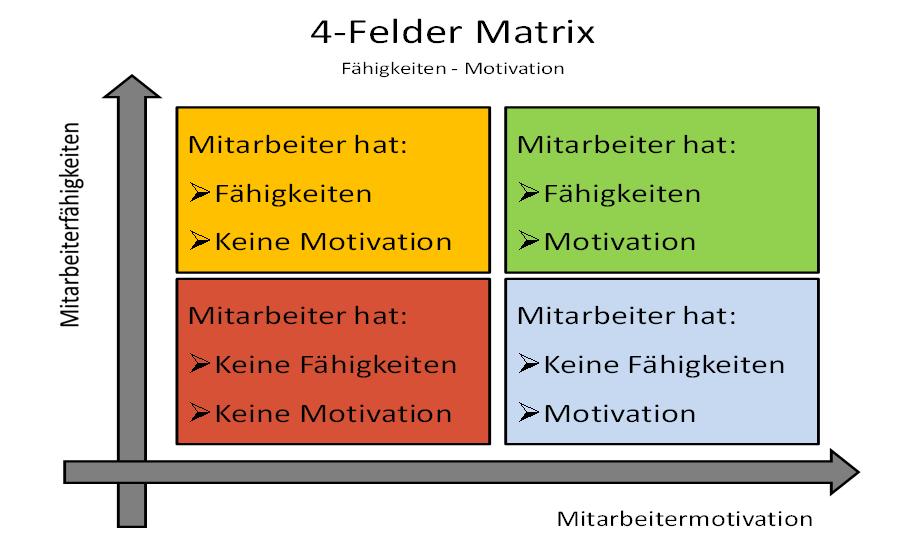 4 felder matrix
